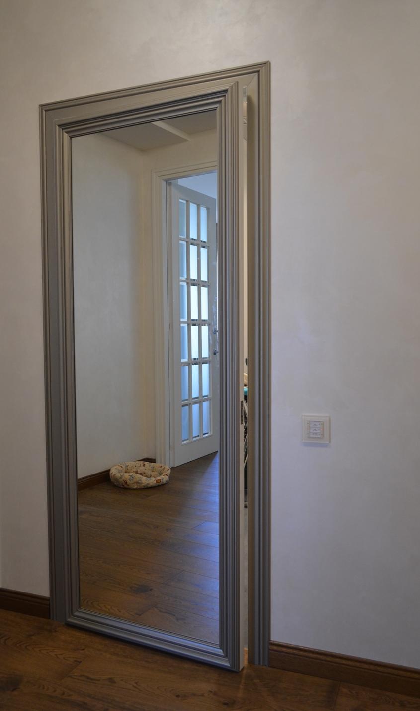 Зеркало дверь своими руками